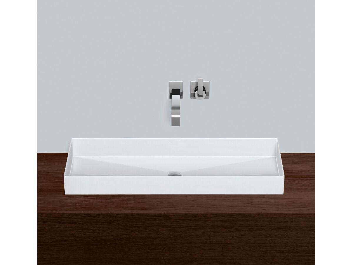 Alape Metaphor Counter Basin No Taphole 1000mm White