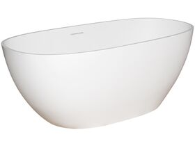 Kado Lussi Freestanding Bath with Plug and Waste 1700 White