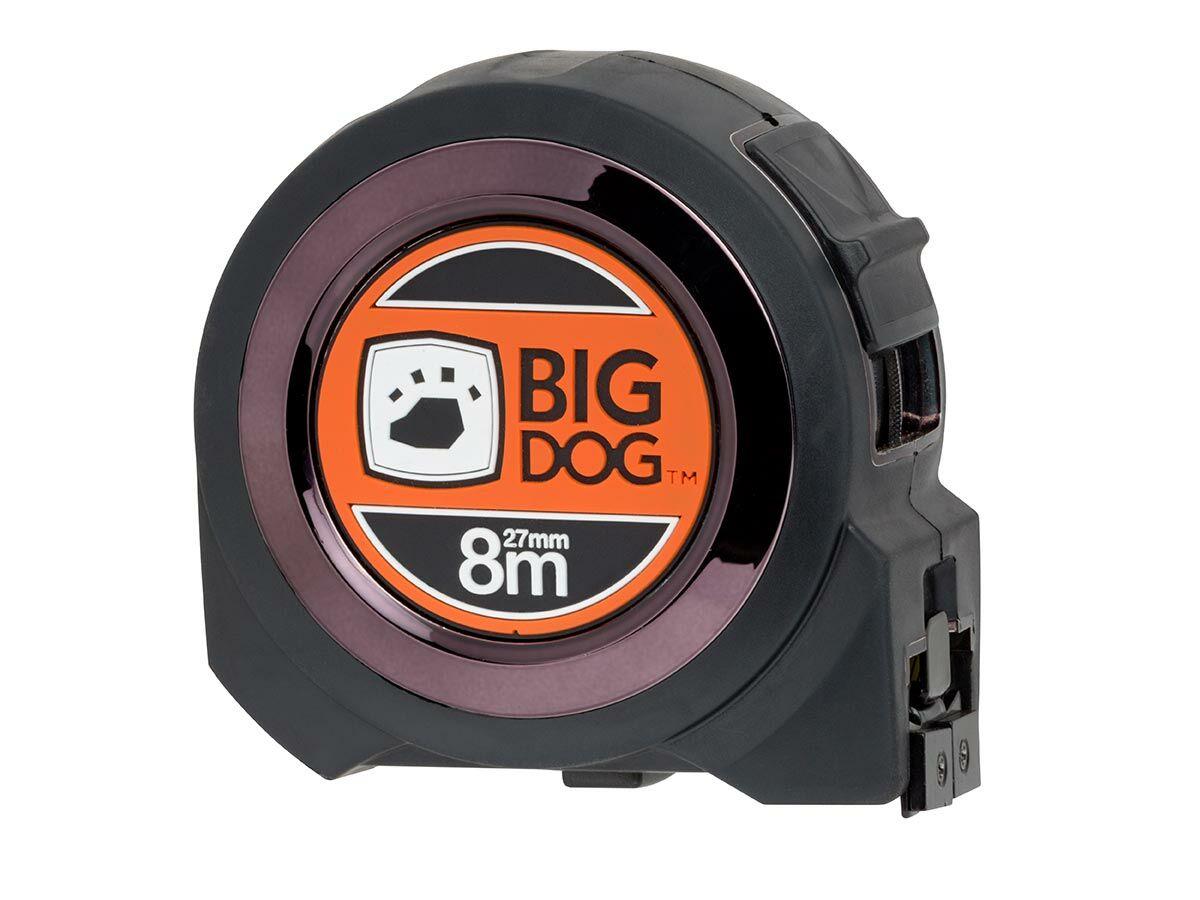 Bigdog Magnetic Tape Measure 8mtr