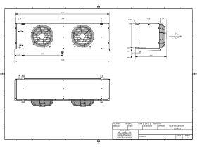 Cabero Evaporator Medium Temperature CH4D2-35-1