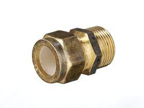 Nylon Olive Union 20mm Male x 20mm Copper