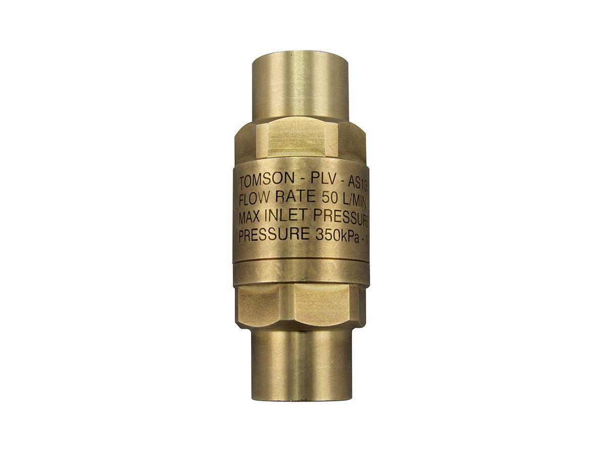 Tomson Inline Pressure Limiting Valve Female & Female 350kPa