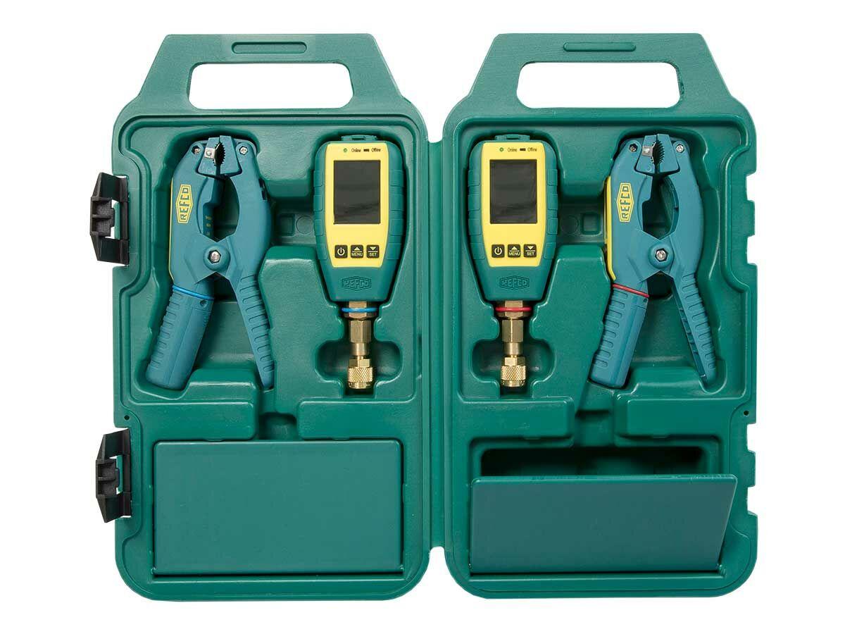 Refco Wireless Temperature & Pressure Gauge Set