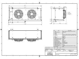 Cabero Evaporator Low Temperature CH4C2-30E-1