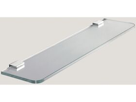 Sonia Dynamic Glass Shelf 450mm Chrome