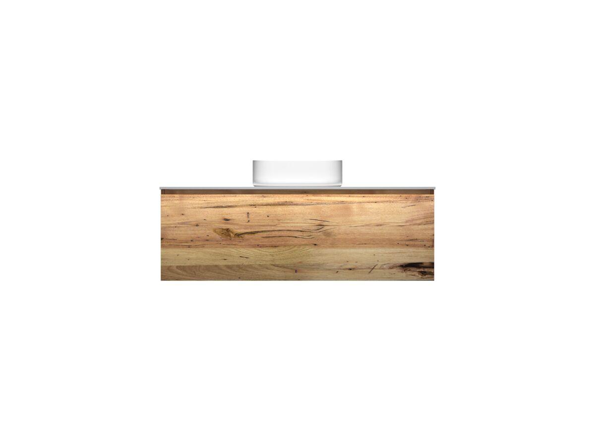 Kado Arc Timber All Drawer 1200 Vanity Corian 12mm Top