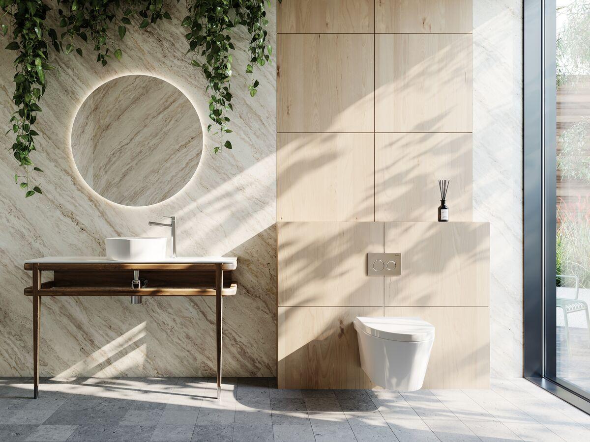 Geberit / American Standard / Issy / Mizu Bathroom Setting