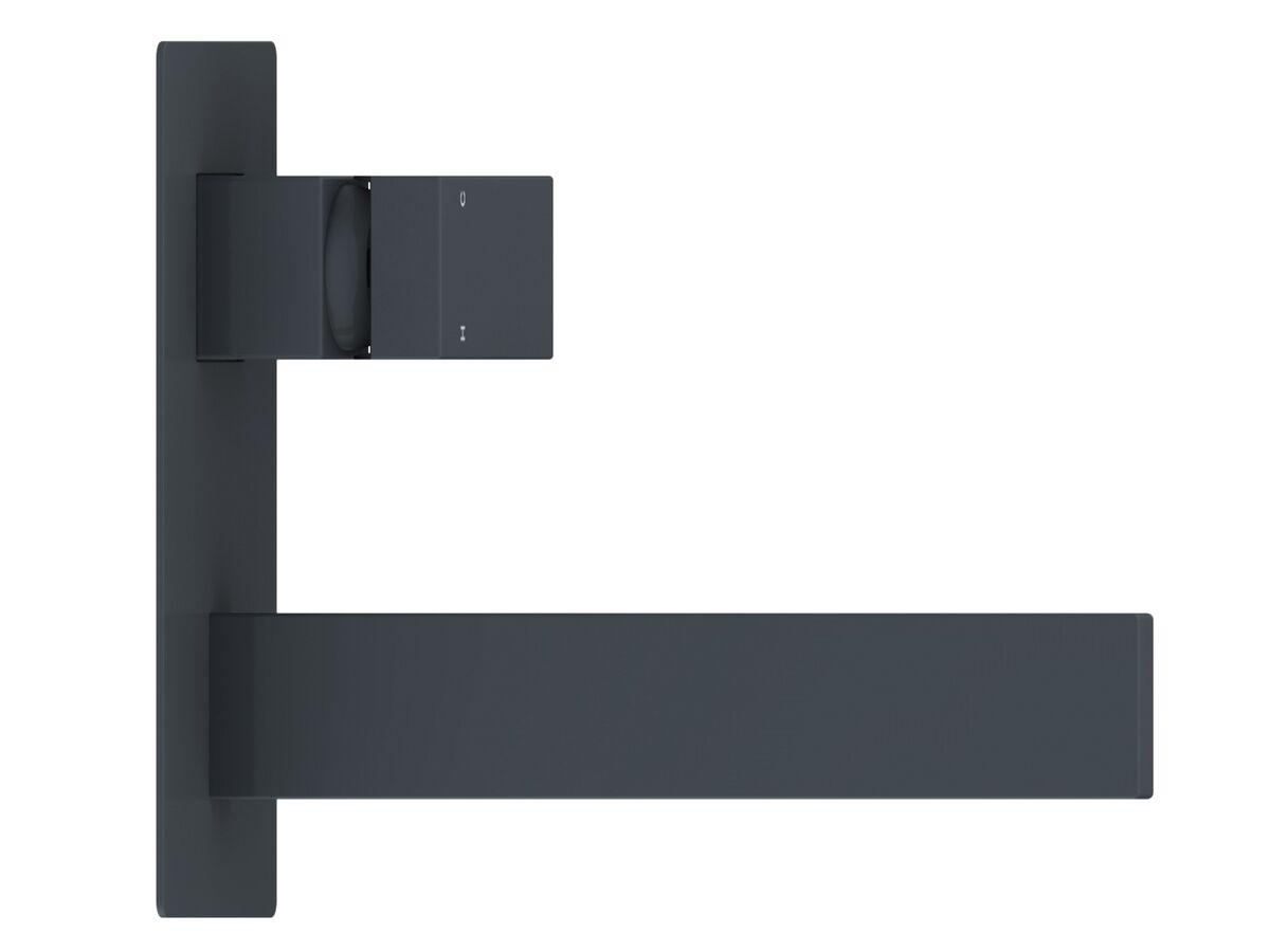 Mizu Bloc MK2 Wall Basin / Bath Mixer Set Matte Black