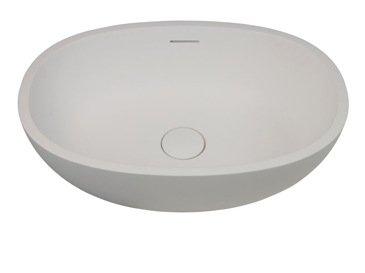 Kado Lussi Vessel Basin 500mm White
