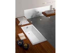 Kaldewei Puro Inset Bath White and Chrome