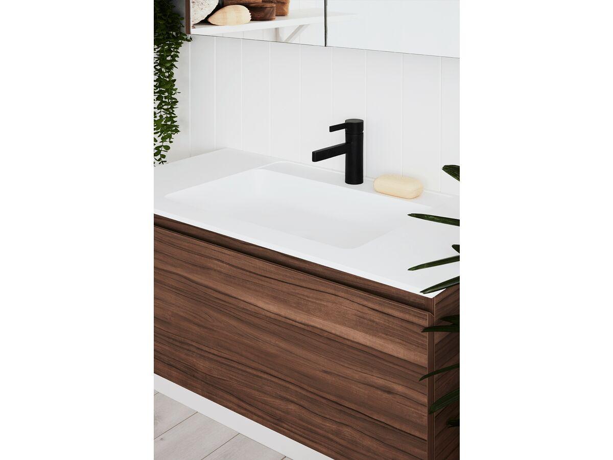 Tasca Slimline Wall Hung Vanity Unit Single Bowl