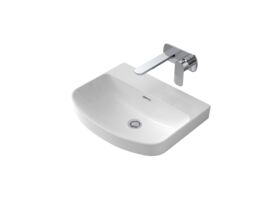 Caroma Forma Inset Vanity Basin No taphole with Overflow