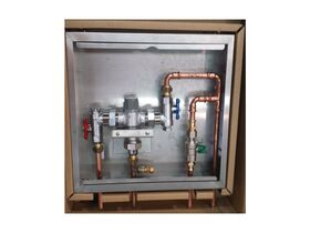 Wilkins Aqua Gard Stainless Steel Cabinet with Bypass 15mm
