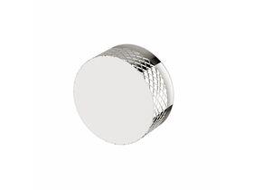 Milli Pure Progressive Shower / Bath Mixer Tap with Diamond Textured Handle Chrome