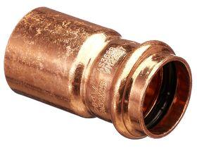 >B< Press Water Fitting Reducer 32mm x 25mm