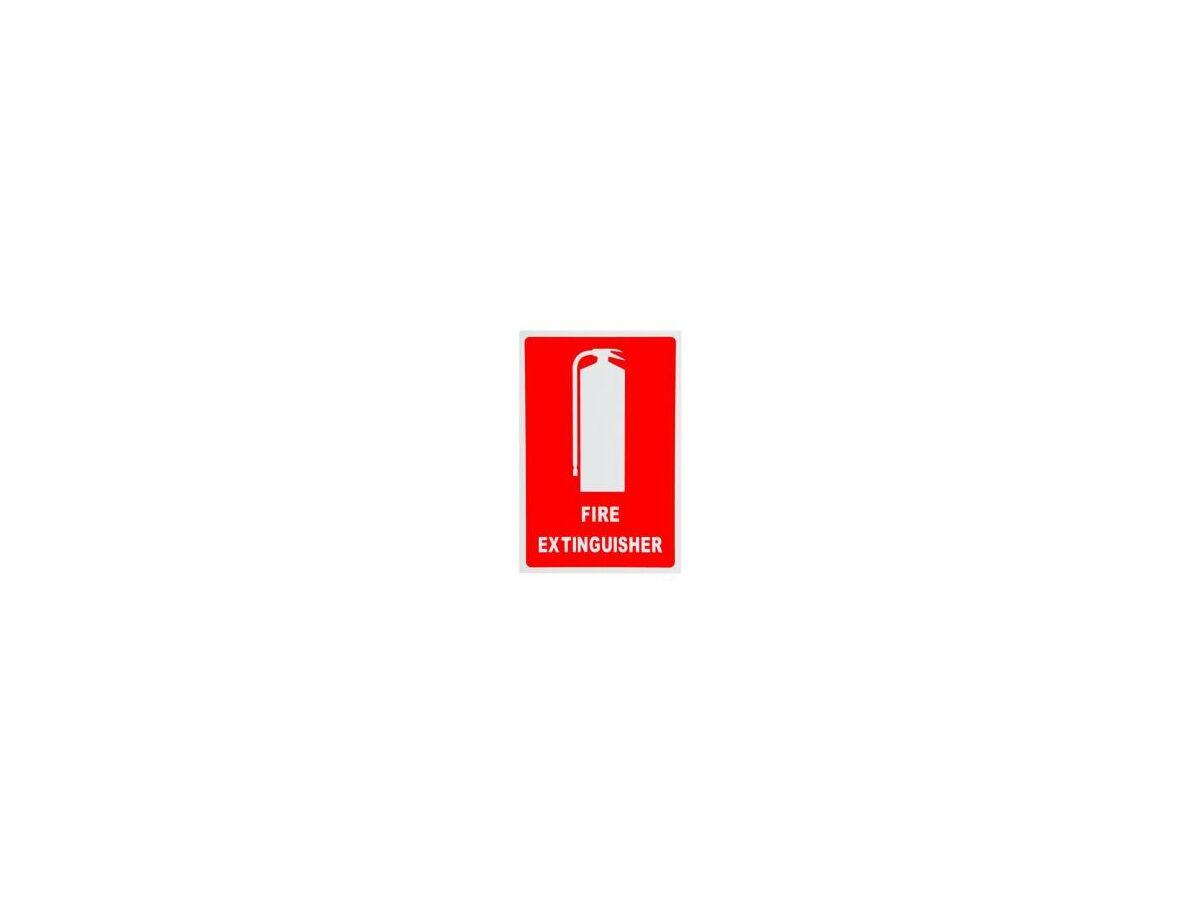 Location Signs Extinguisher Medium - Plastic