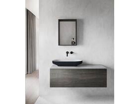 Venice 700 Counter Basin Solid Surface Softskin Charcoal