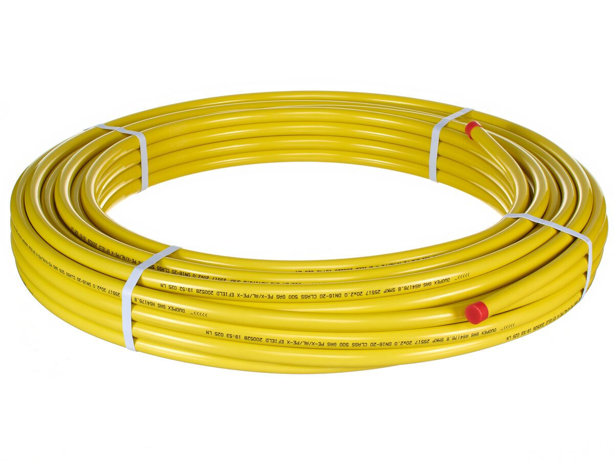 DUOPEX GAS PIPE COIL
