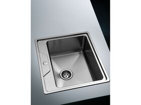 AFA Cubeline Inset Bar Sink 1 Taphole 542mm Stainless Steel