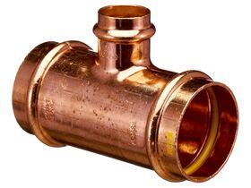 >B< Press Gas Reducing Tee 50mm x 50mm x 25mm