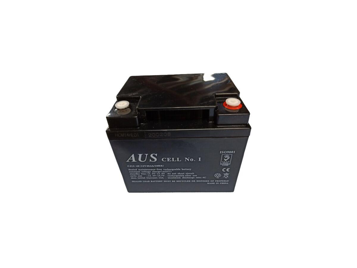 40AH 12VDC Lead Acid Battery