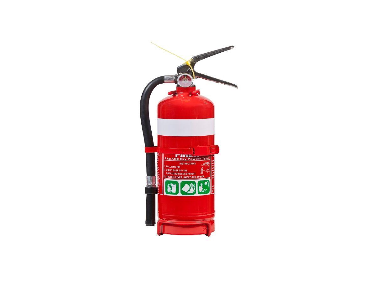 Fire Extingguisher 2.0Kg Dry Chem (2A:40B[E])