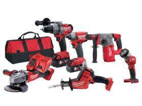 Milwaukee 6 Piece Fuel Kit Generation II