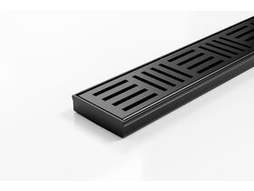 Kado Lux Shower Channel Kit Matte Black