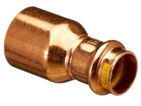 >B< Press Gas Fitting Reducer 32mm x 20mm