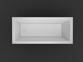 Base Acrylic Bath 1700 x 750 x 400mm White
