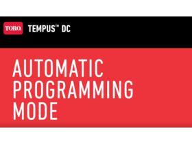 Automatic Programing Mode
