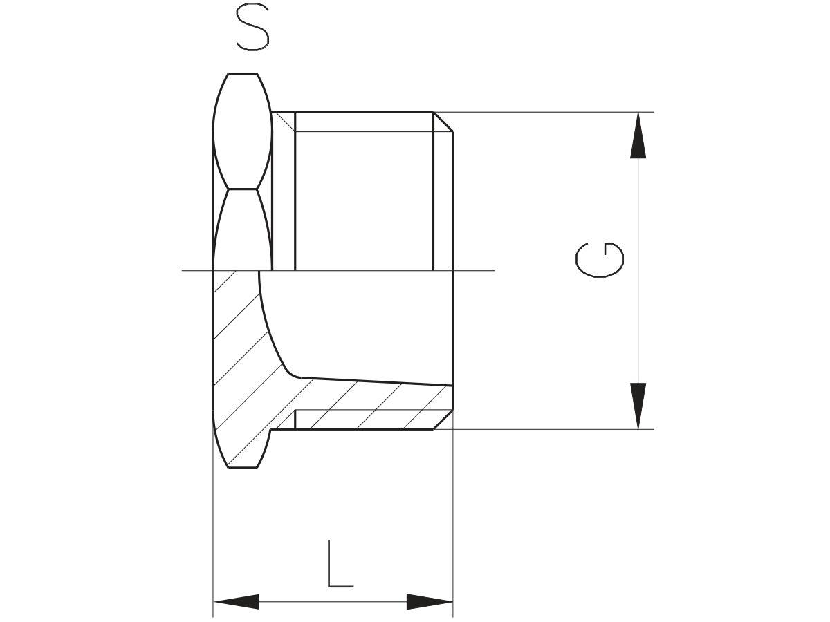 Schedule 80 Pvc-U Plug