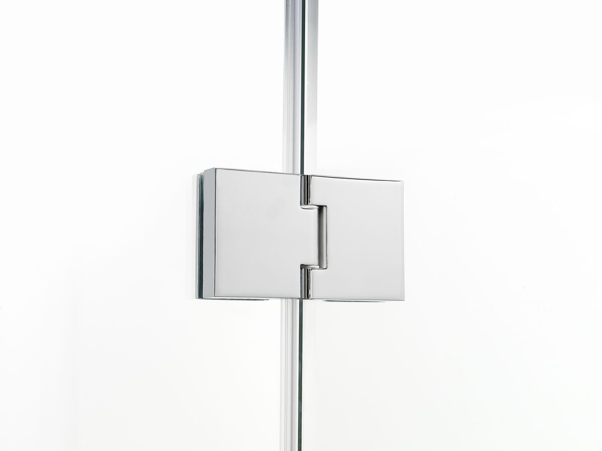 Posh Domaine MKII Semi Frameless Hinged Shower Screen