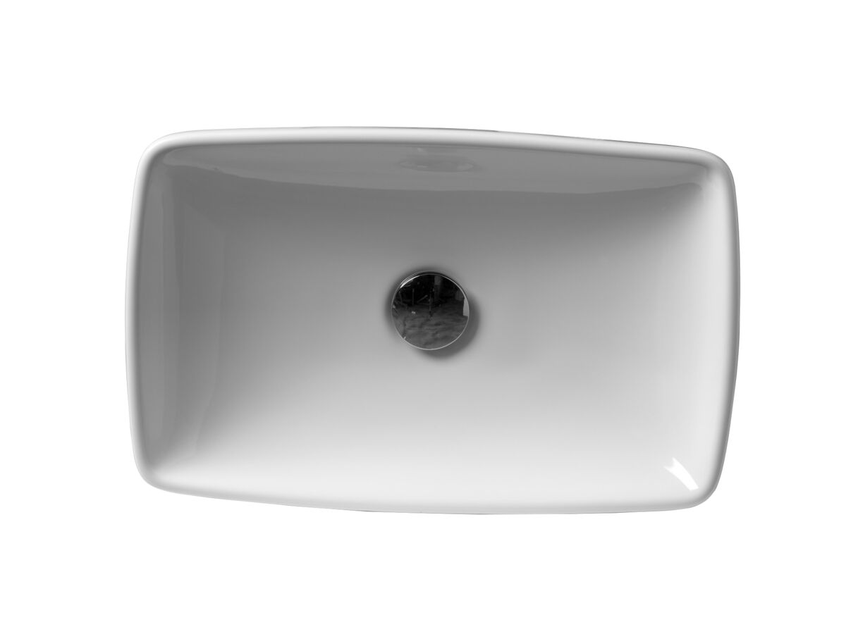 AXA H10 Rectangle Counter Basin 500 x 320mm White