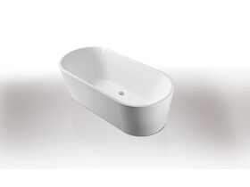 Posh Solus Freestanding Bath 1780 x 800 x 560mm White