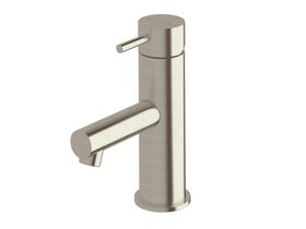 Scala Basin Mixer LUX PVD Brushed Oyster Nickel (5 Star)