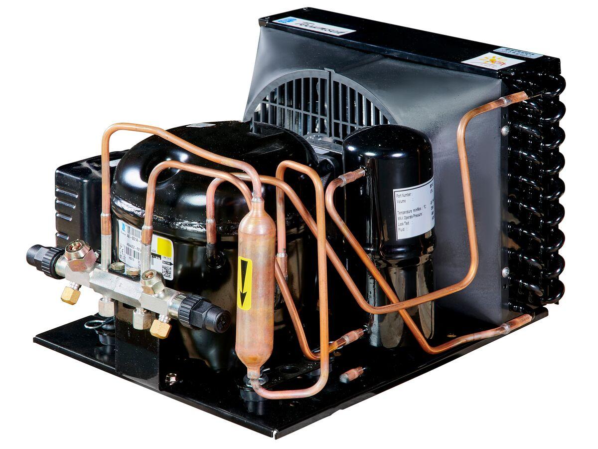 Tecumseh HTA Condensing Unit 1/5hp R404A MHBP AET4425ZHR-FZ1A