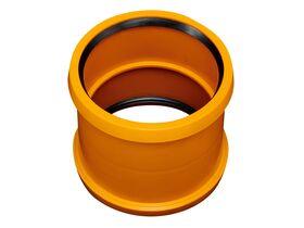 Rehau Awaduct PP Double Socket Coupler 160mm