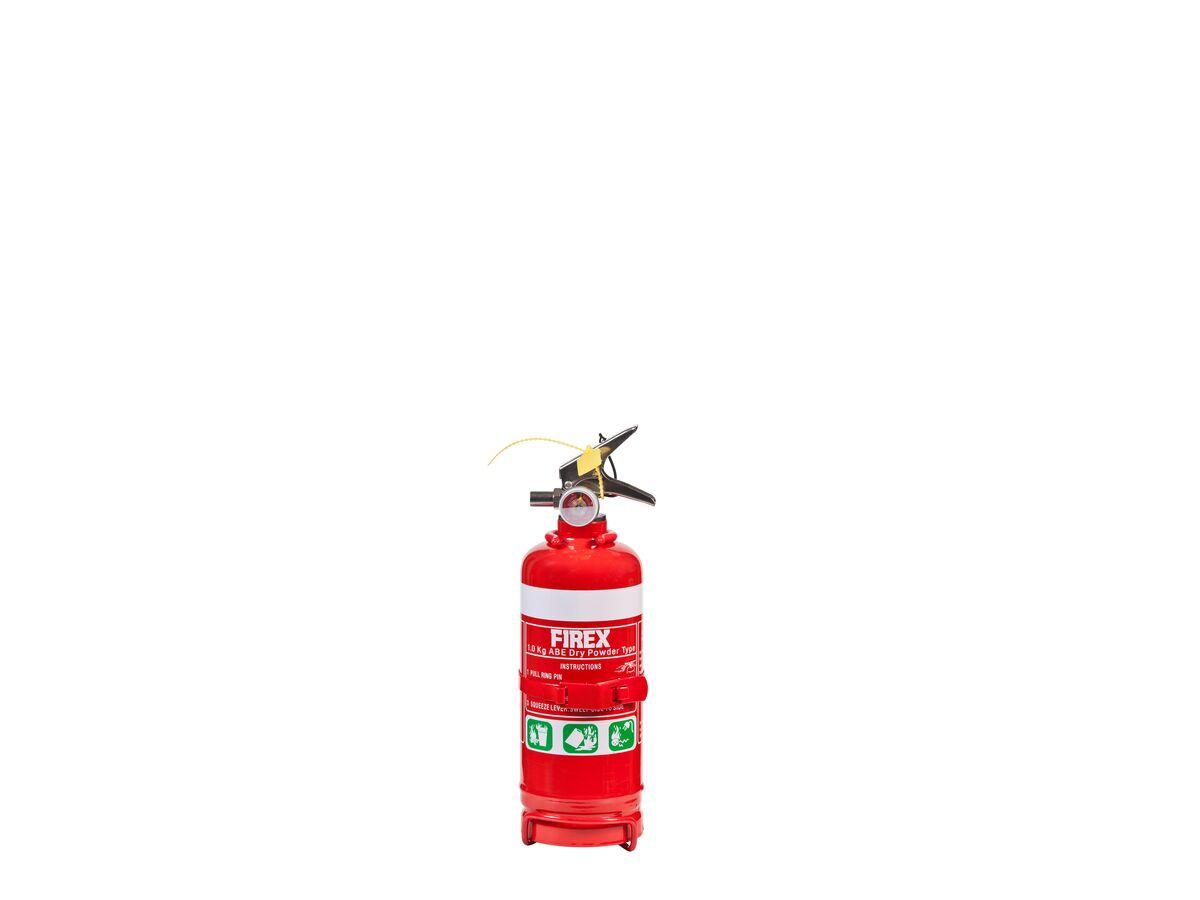 Fire Extingguisher 1Kg Dry Chem (1A:10B[E])