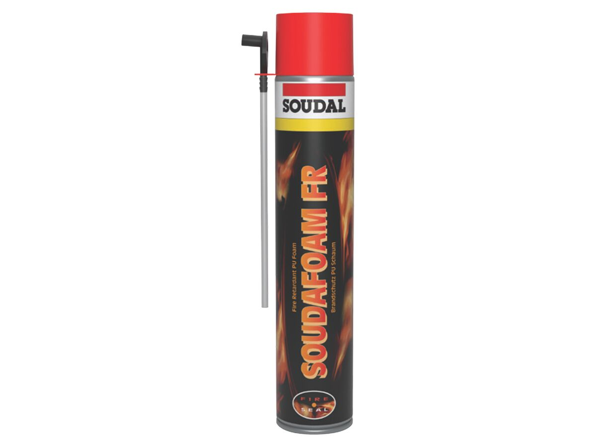 Soudafoam FR Fire Retardant - Red 750ml