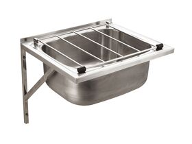 Wolfen #316 Stainless Steel Cleaners Sink with Grate