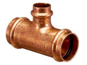 >B< Press Water Reducing Tee 32mm x 32mm x 20mm