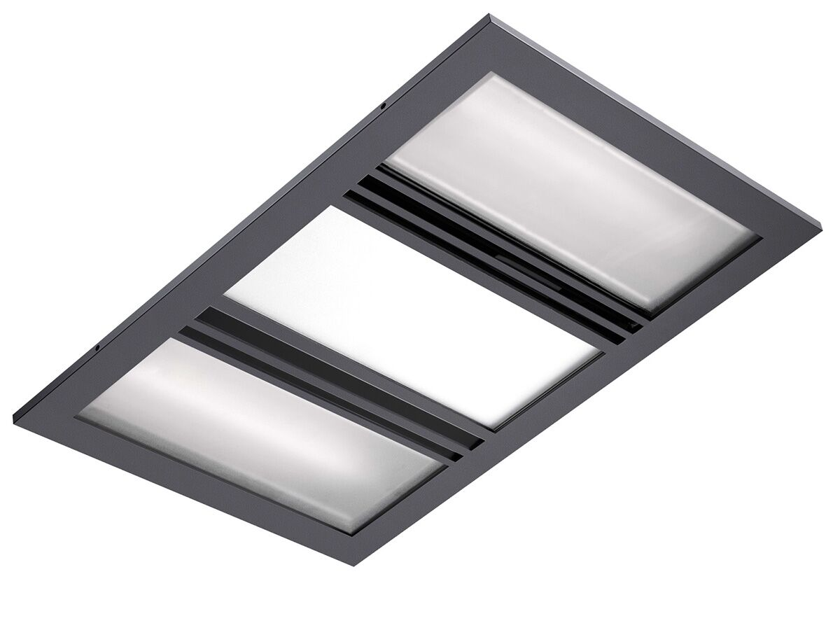Kado Lux 3 in 1 Heat Lamp Exhaust Titanium
