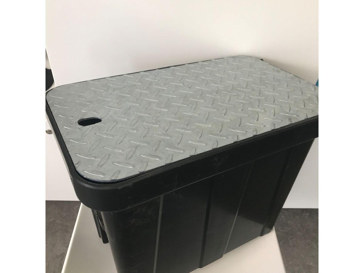 Strongcast Meter Box + Steel Lid