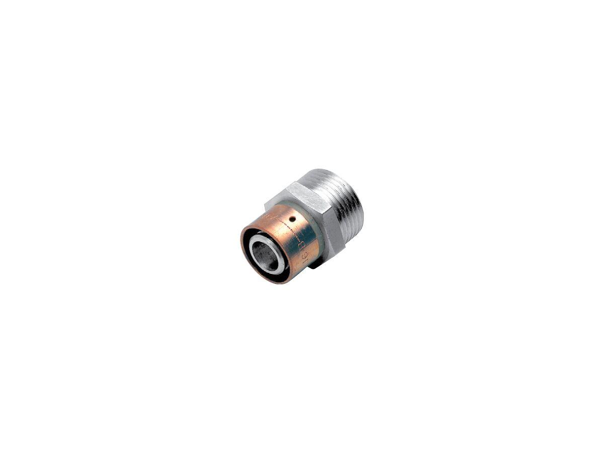 Auspex Stainless Steel Adaptor Male