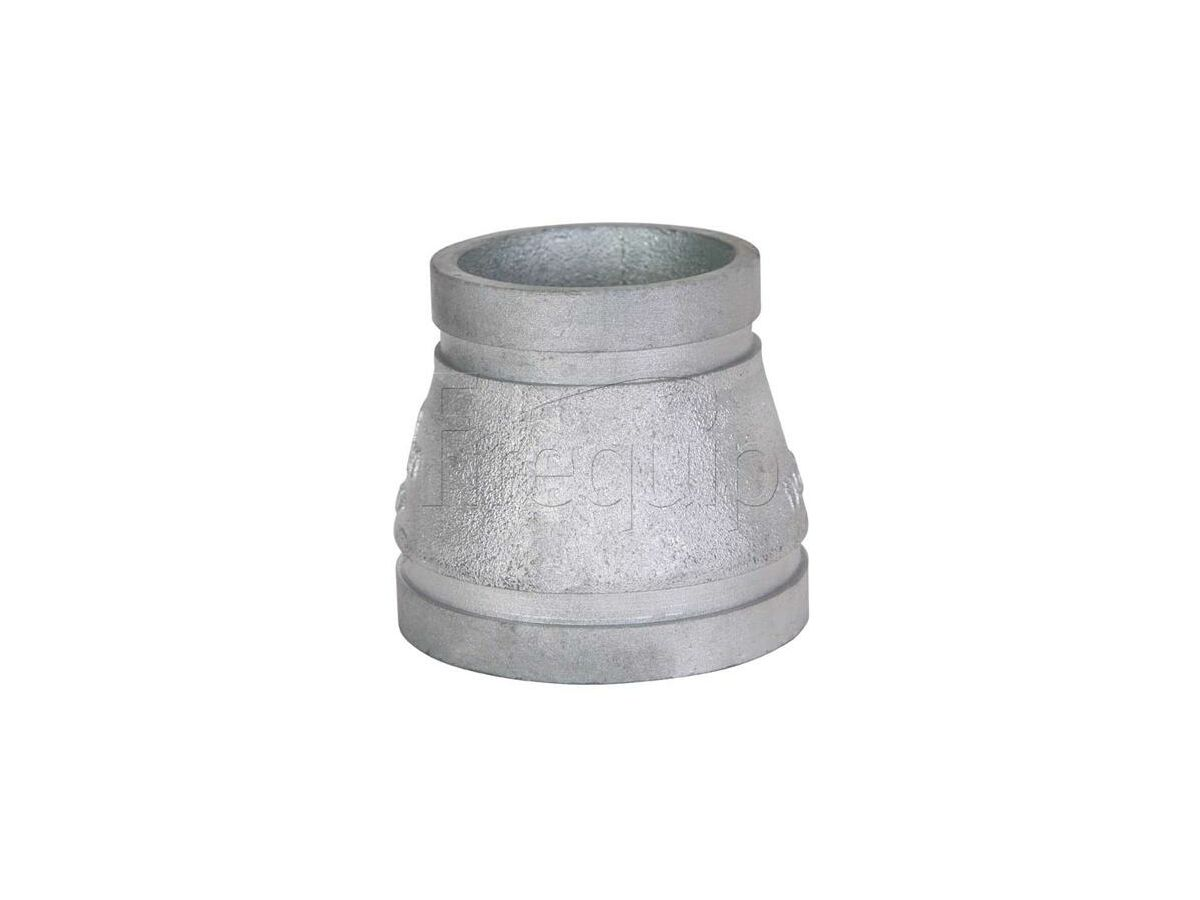 Roll Groove Concentric Reducer (Galvanized) 50 x 32