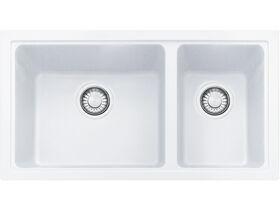 Franke Impact Granite IMG160 1 2/3 Undermount Sink Only Polar White