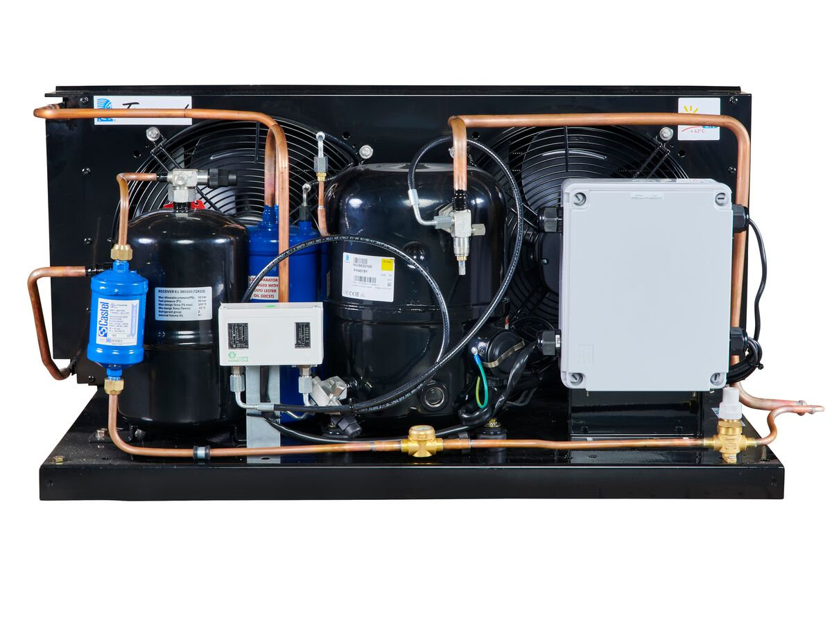 Tecumseh EVO Condensing Unit 1.5hp R134 MHBP EPCH4518Y-1 Phase