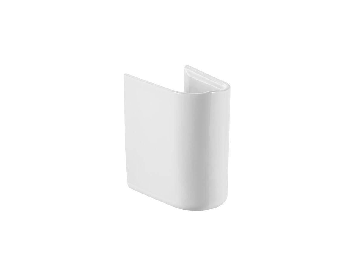 Roca Debba Semi Pedestal Suit 500mm Wall Basin White