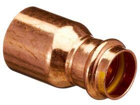 >B< Press Gas Fitting Reducer 40mm x 25mm